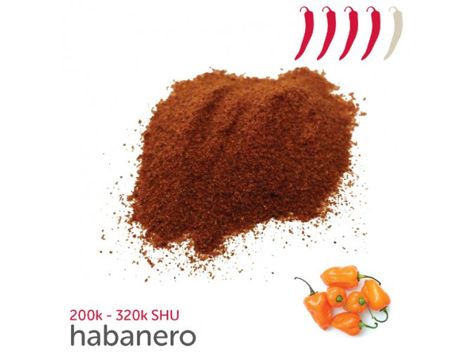 636 habanero chilli prasek 10 g
