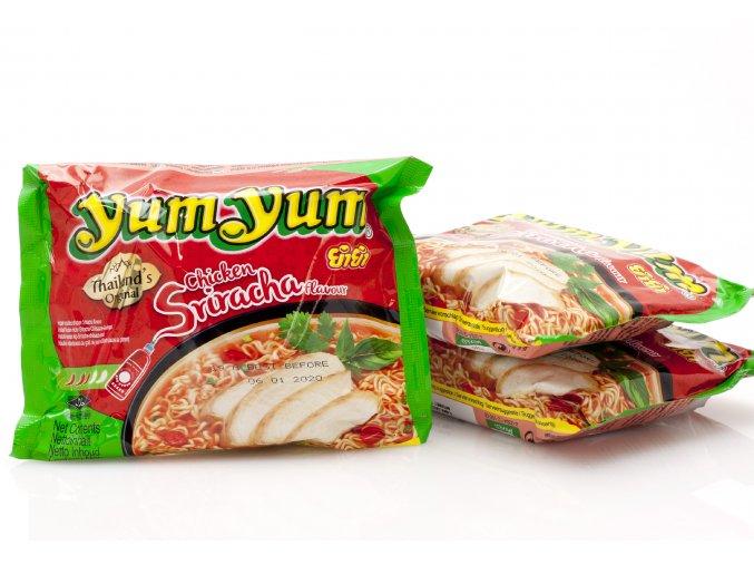 953 3x instantne rezance sriracha chicken yum yum 60g