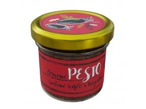 Pesto cervene rajce bazalka