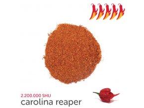 148 carolina reaper chilli prasek 10 g