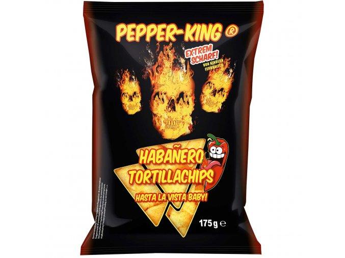 pepper king habanero tortillachips 175g