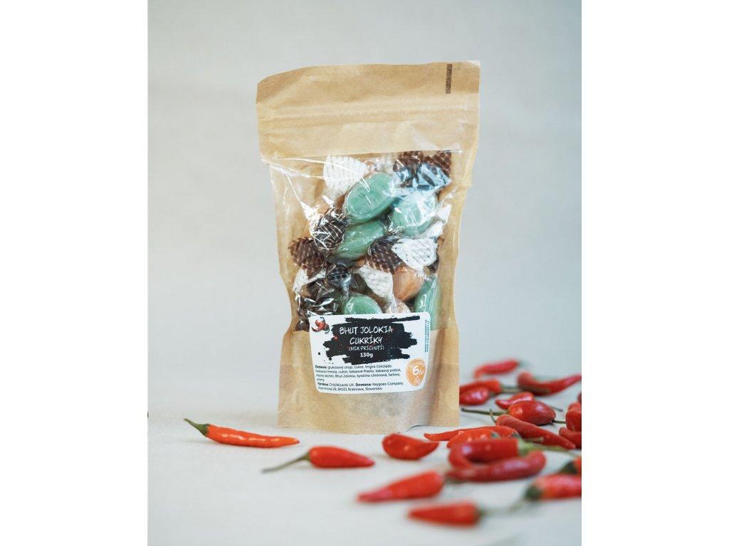 Pálivé bonbóny - Bhut Jolokia