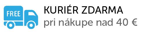 Kurier zdarma pri nákupe od 40 EUR