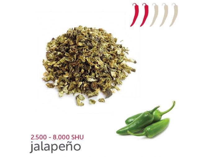 jalapeno flakes green