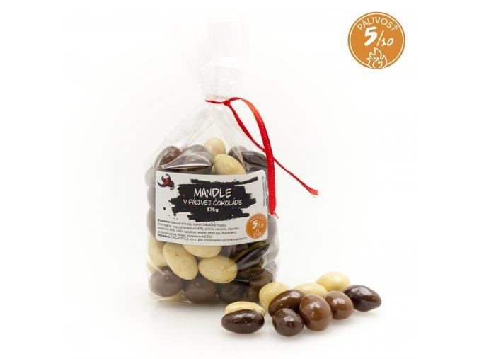 875 4 mandle v palivej cokolade 175g