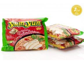 953 1 3x instantne rezance sriracha chicken yum yum 60g