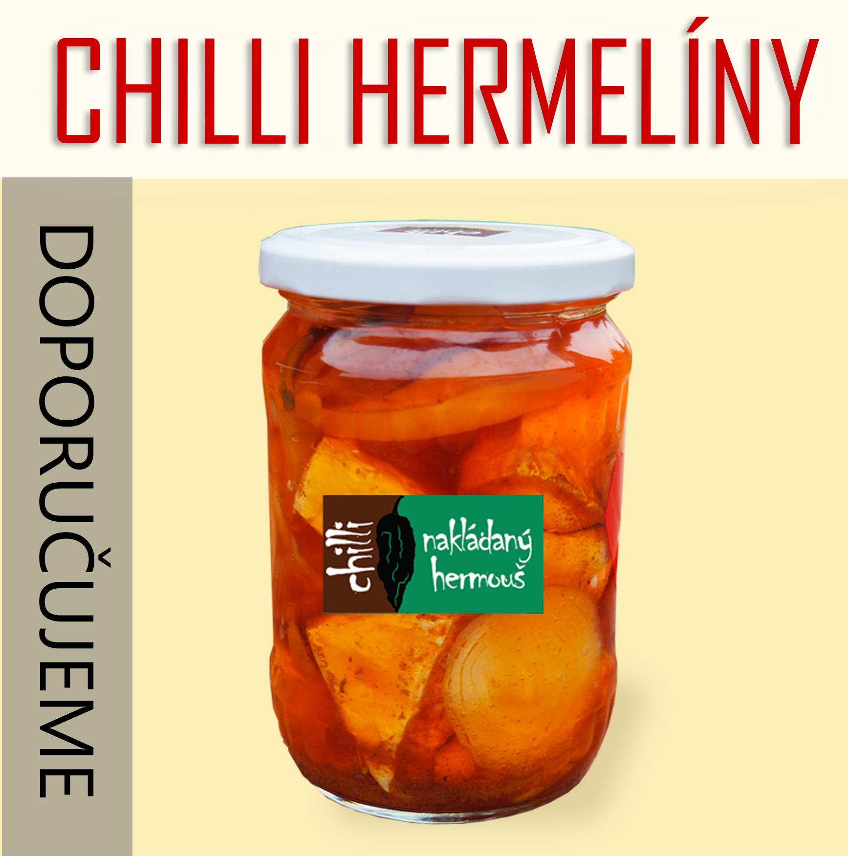 Chilli nakládané hermelíny jsou delikatesou mezi milovníky sýry a pálivého.