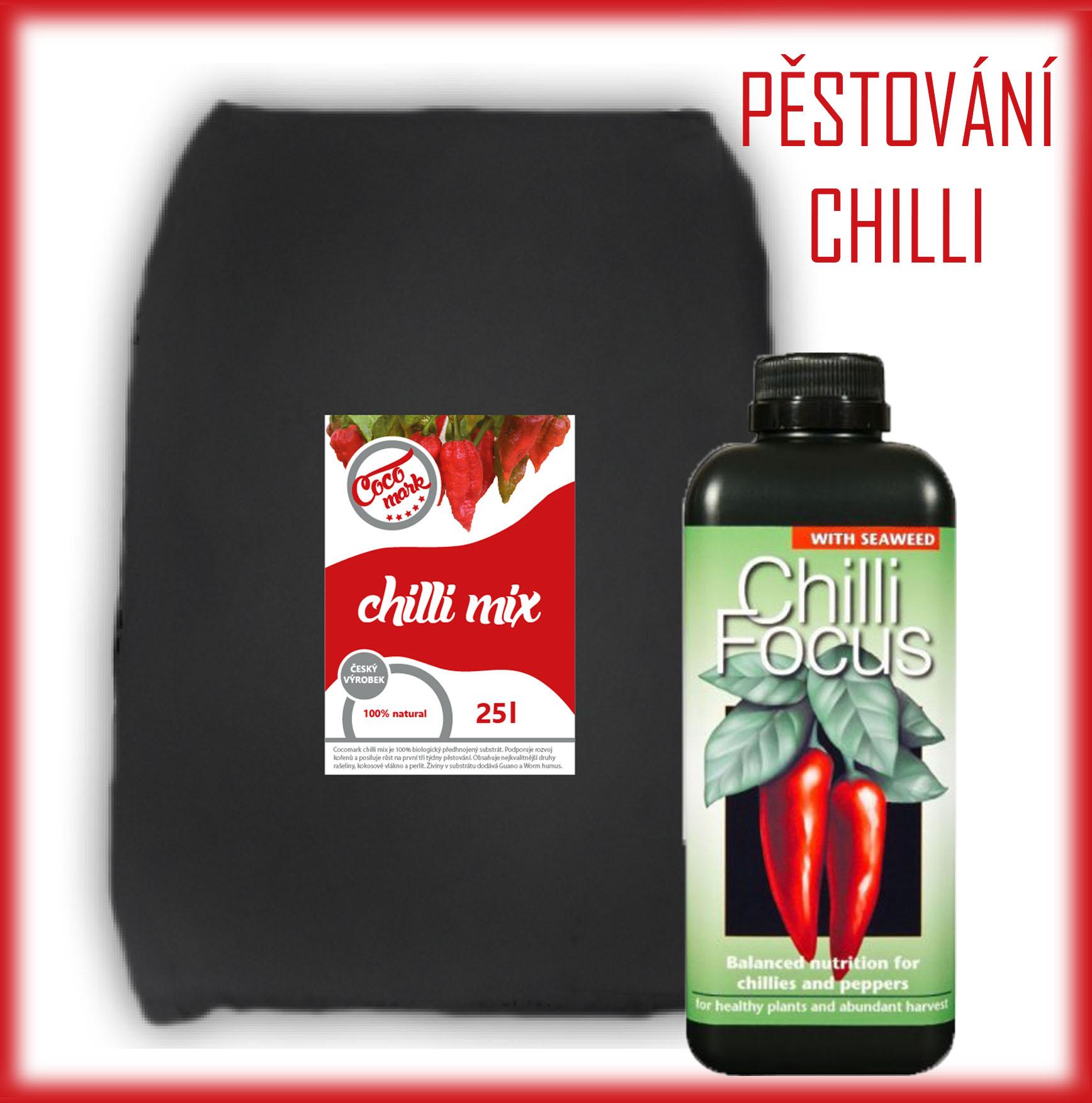 Substrát na chilli a hnojiva