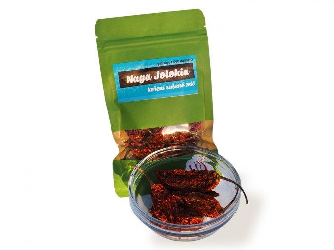 Sušené chilli 10 g Naga Jolokia