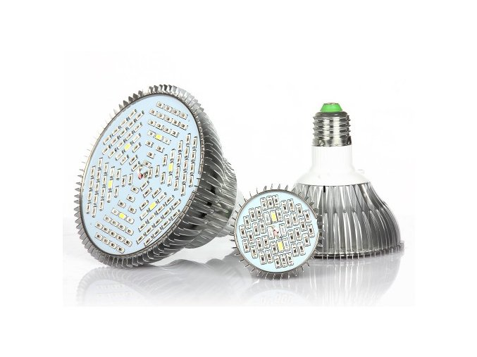 Diamond grow LED žárovka dual 30W