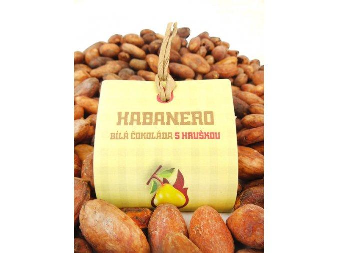 habanero bila cokolada s hruskou vzorek 82639 0