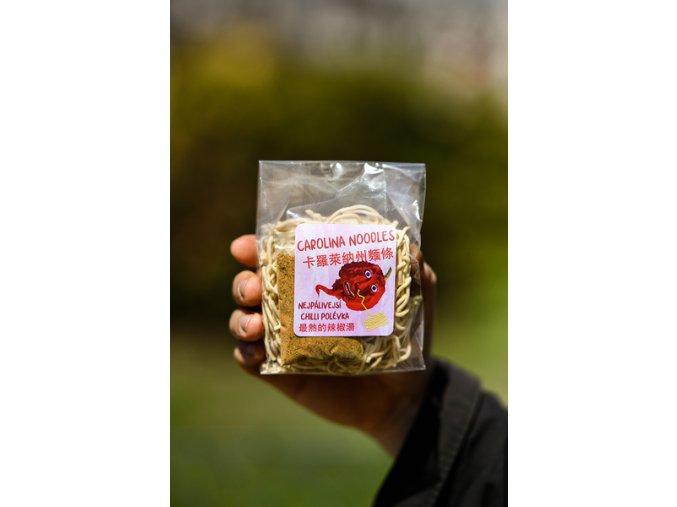 Carolina Noodles nejpálivější chilli polévka