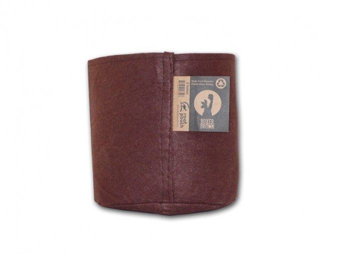 Root pouch textilní květináč Boxer brown 8l