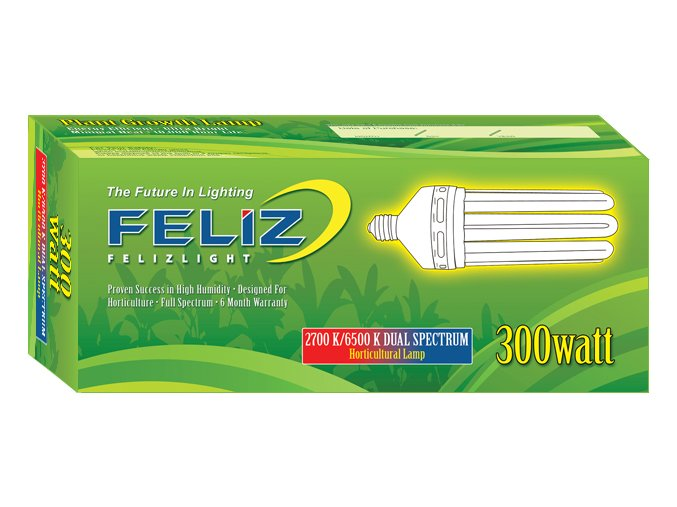 Úsporná lampa Feliz 300W růsti i květ