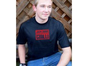 24 Pánské tričko Jsem žrout chilli