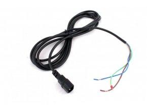Kabel 3x1,5mm, délka 4m s VDE konektorem (samec)
