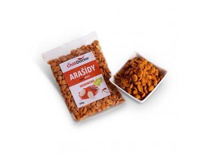 Arašídy s Habanero a limetkou 200 g