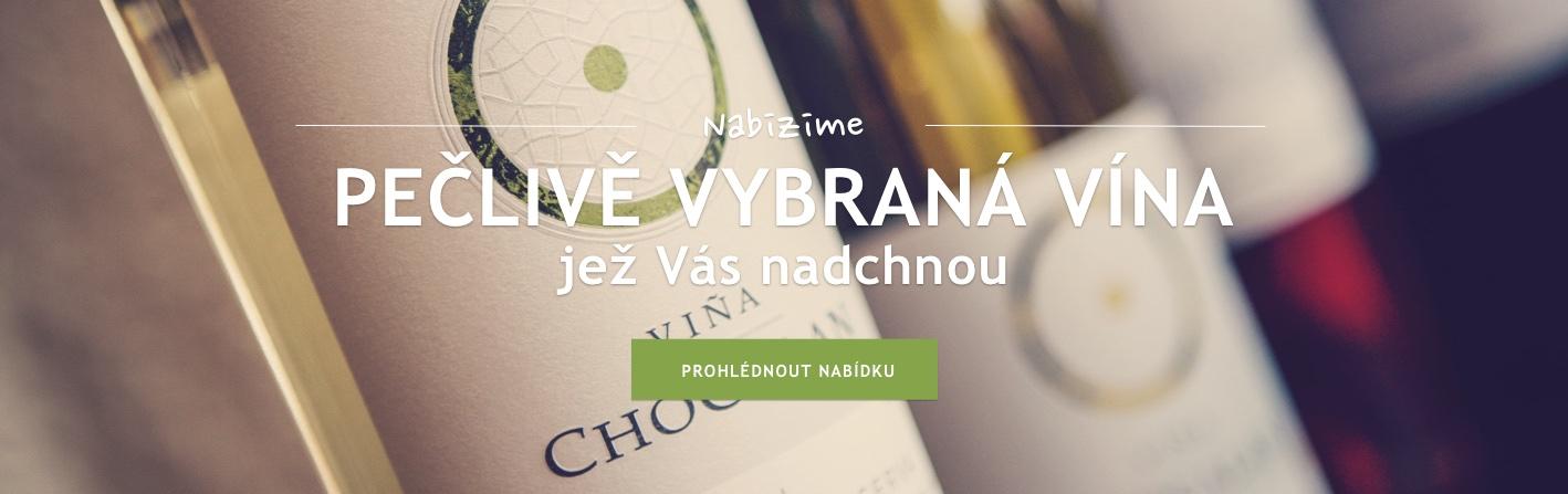 Pečlivě vybraná vína