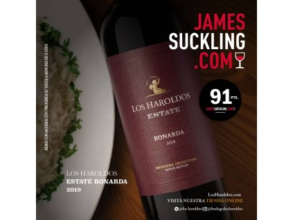 JAMES SUCKLING LH ESTATE BONARDA H