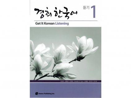 Get It Korean 1 - Listening (použité, zcela nepoškozené)