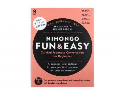 Nihongo Fun & Easy 1 japonstina ucebnice