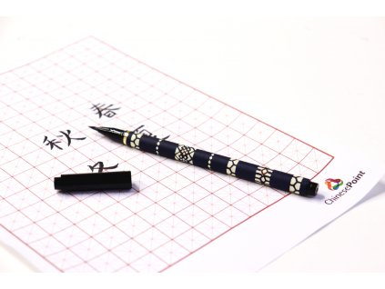 tmavě modré pero 3