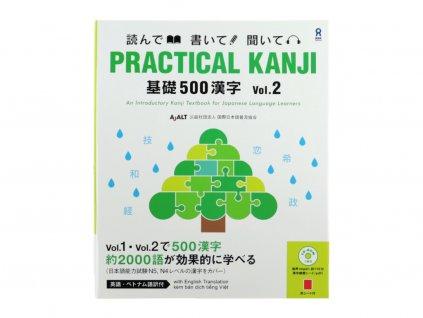 Practical Kanji Vol.2 japonstina znaky
