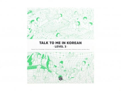 Talk to me in Korean 3 textbook