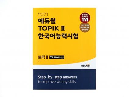 TOPIK II (Writing) - Korean Proficiency Test 2021 (+ Extra Book with Vocabulary)