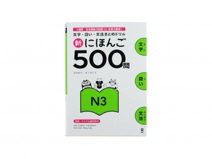 Shin Nihongo Mondai 500 N3 japonstina
