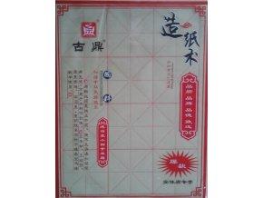 Kaligrafický papír na nácvik znaků - velký