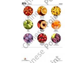 Japonské jazykové karty - Ovoce