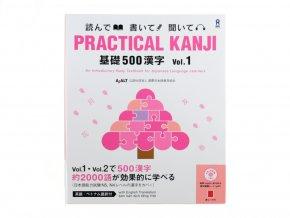 Practical Kanji Vol.1 japonstina znaky