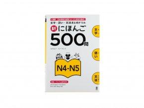 Shin Nihongo Mondai 500 N4 N5 japonstina