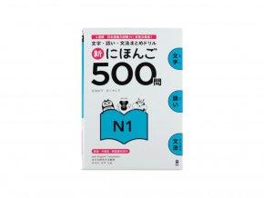 Shin Nihongo Mondai 500 N1 japonstina