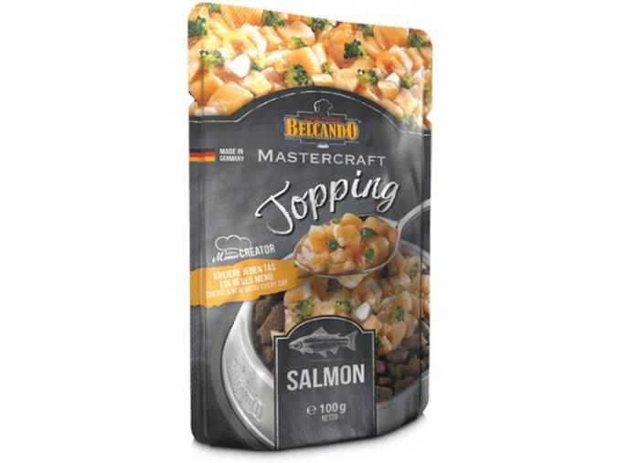 salmon topping