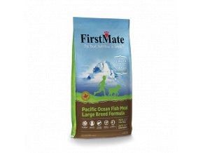 FirstMate GrainFree NEW 6kg PacificOceanFish LargeBreed Left1 1