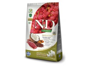 nd quinoa all adult dog skincoat duck