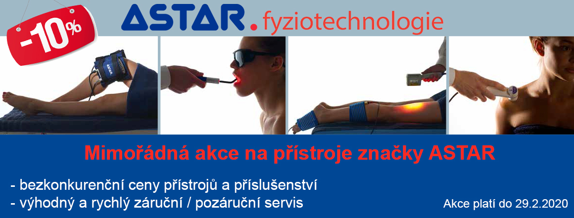 Rehabilitační přístroje značky ASTAR