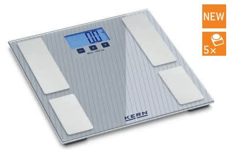 Kern váhy s měřením tělesného tuku