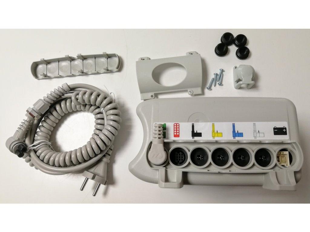 Řídící jednotka Dewert MCL II CARE 77170 + příruba + kabel