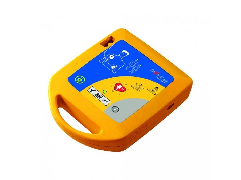 aed defibrilator saverone fully automatic pad 200j