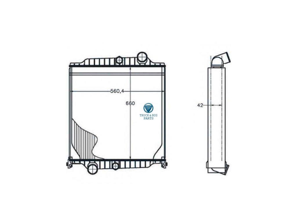 chladi u010c vody volvo fl6