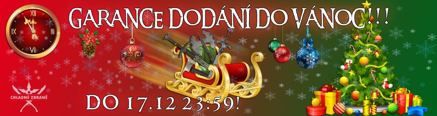 Garance dodání do Vánoc!
