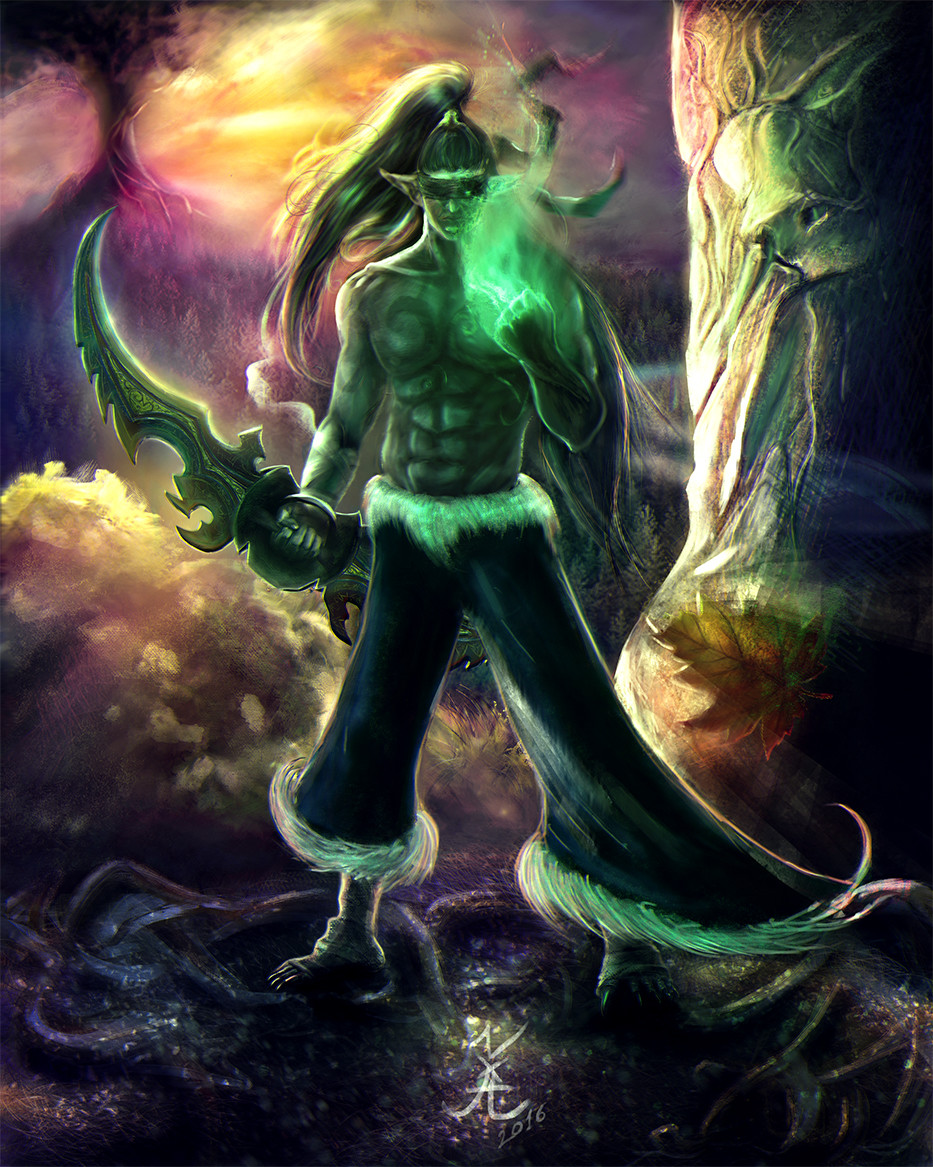 aleksandr-lakiichuk-illidan-stormrage-the-demon-hunter