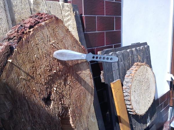 Dřevěný kulatý terč