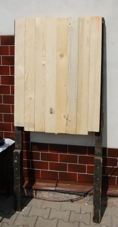 Dřevěný indoor terč