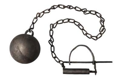 Koule na řetězu