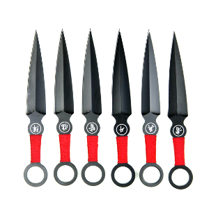 Megasada vrhacích nožů KUNAI
