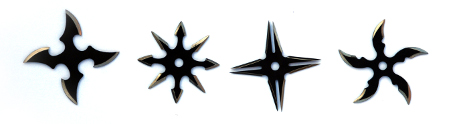 Vrhací hvězdice SECRET NINJA